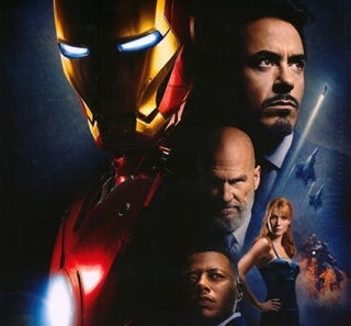 Illustration for article titled Dual Iron Man Posters Duel For Your Wallspace