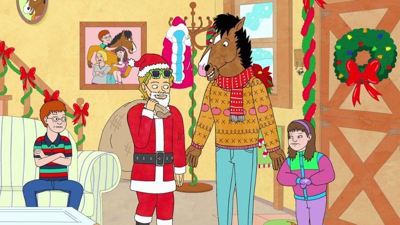 "Illustration for article titled BoJack Horseman: ""Sabrina's Christmas Wish"""