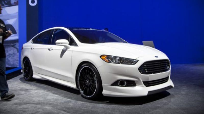 Ford Fusion Body Styling Package From 3dcarbon Goes Nuclear