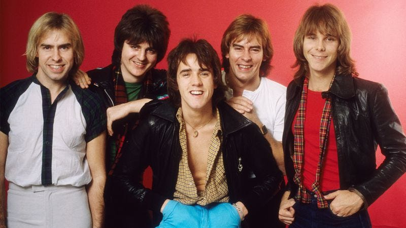 The Bay City Rollers, 1978 (Photo: Michael Ochs Archives/Getty Images)