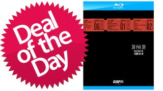 Illustration for article titled ESPN 30 for 30 Blu-Ray Collector's Set Is Your Balls Stories Deal of the Day