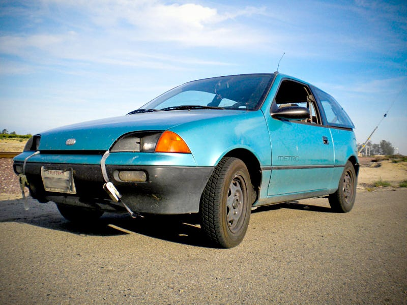 illustration for article titled the geo metro is one of the greatest cars  ever built