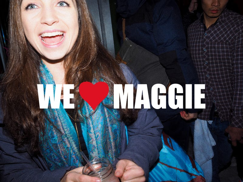 Illustration for article titled WE <3 MAGGIE