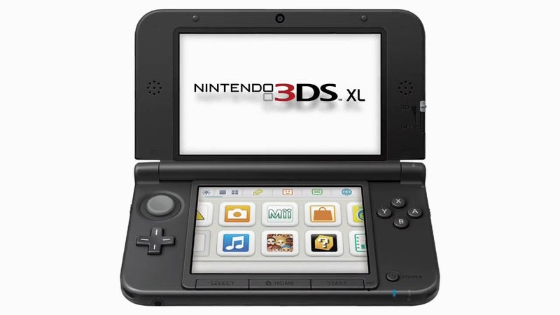 Illustration for article titled I Think the 3DS XL Looks Pretty Darn Good After My First Hands-On With It