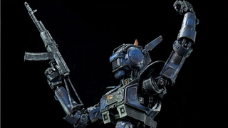Illustration for article titled The Best Part Of ChappieIs Being Turned Into An Incredible Figure