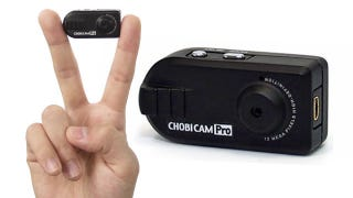 Illustration for article titled Fingertip Sized Camera Does HD Video On the Cheap