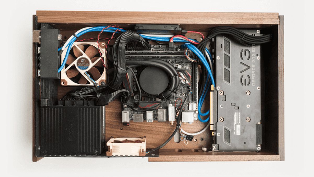 This Wooden Box Is A Gaming Pc