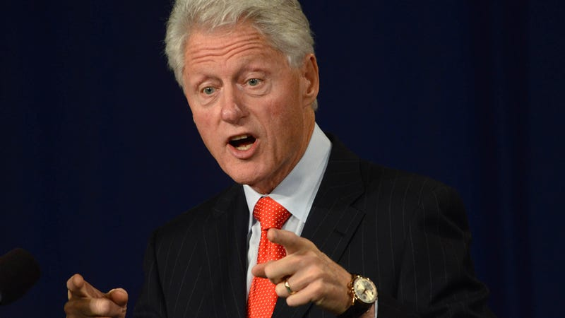 Illustration for article titled Redness Enhances Attractiveness, or Why You Have the Hots for Bill Clinton