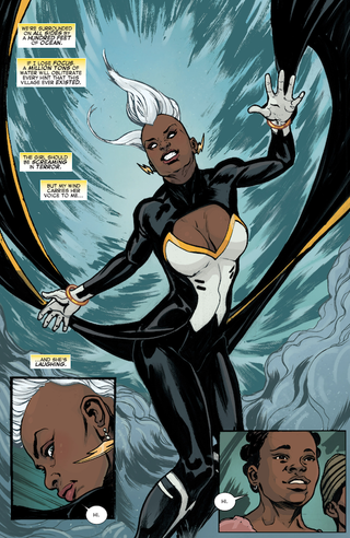 Illustration for article titled Storm #1 Makes An Amazing Debut