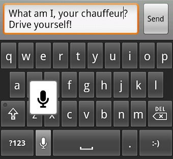 Use Android Voice-to-Text as an SMS Spell Checker