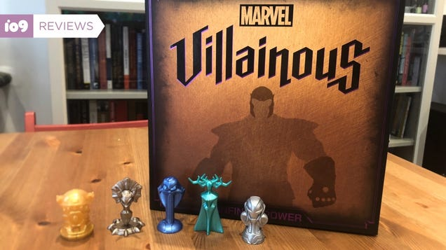 Marvel Villainous Is Perfect for Those Who Thought the Disney Version Was Too Nice