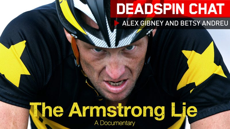 Illustration for article titled Alex Gibney And Betsy Andreu Are Here To Talk About The Armstrong Lie