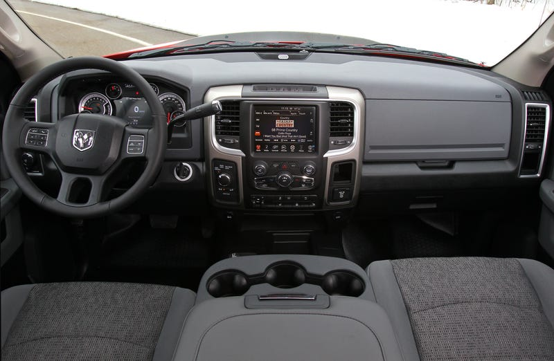 ram says screw you weve got the most off road capable pickup now - 2014 Dodge Ram 2500 Tradesman Interior