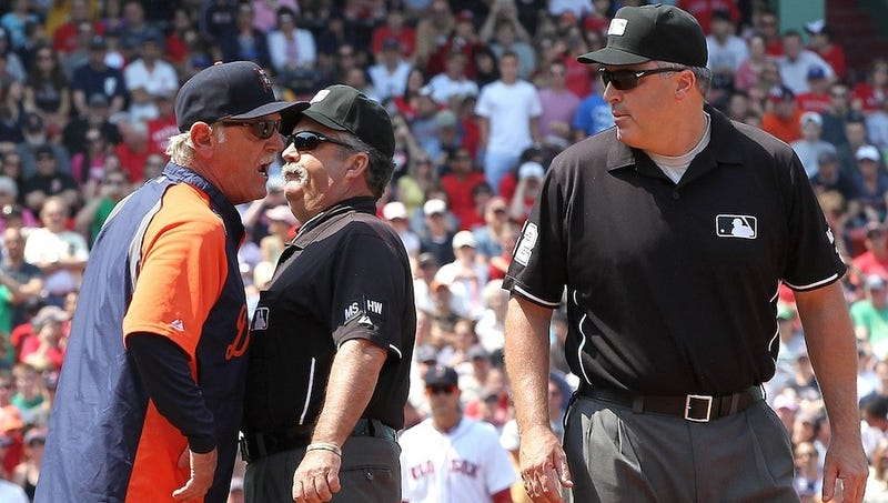 Illustration for article titled Jim Leyland Was Righteously Pissed At Some Terrible Umpiring