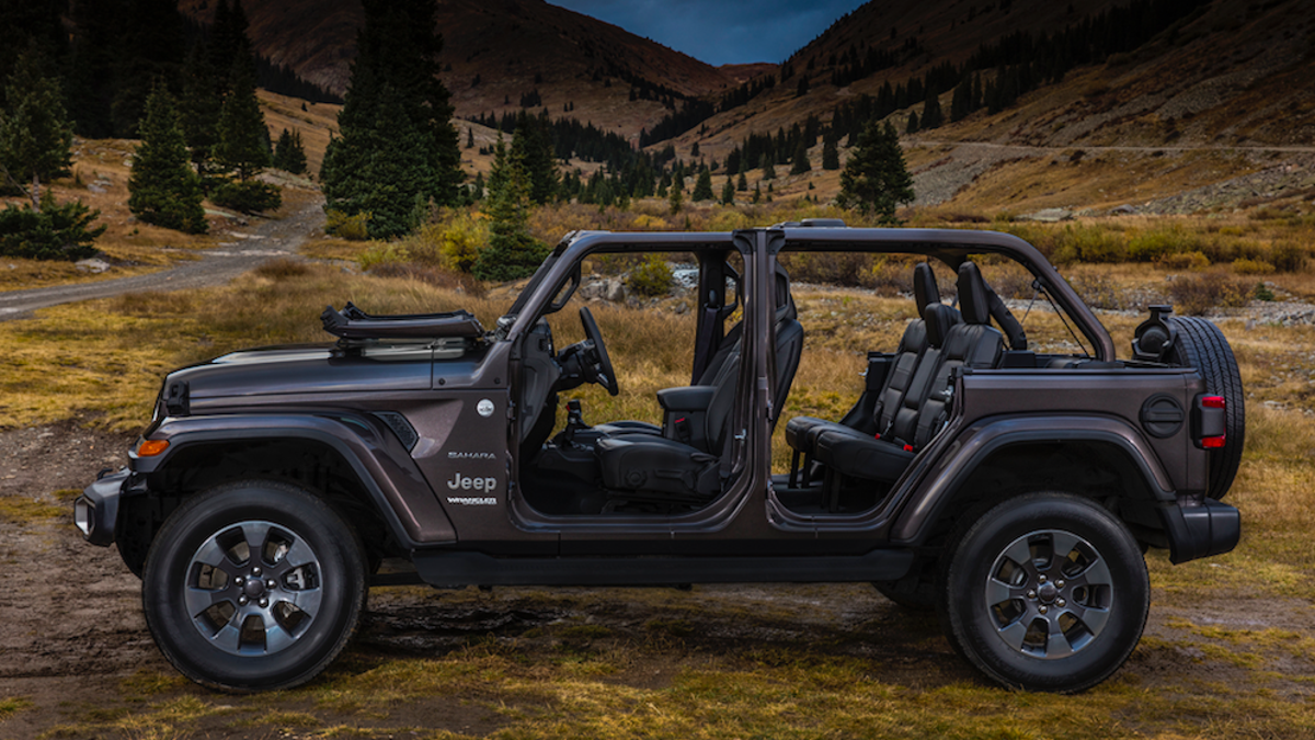 Your Guide To Taking The Doors And More Off 2018 Jeep Wrangler Tj Hardtop Wiring
