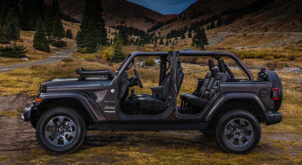 & Your Guide To Taking The Doors And More Off The 2018 Jeep Wrangler