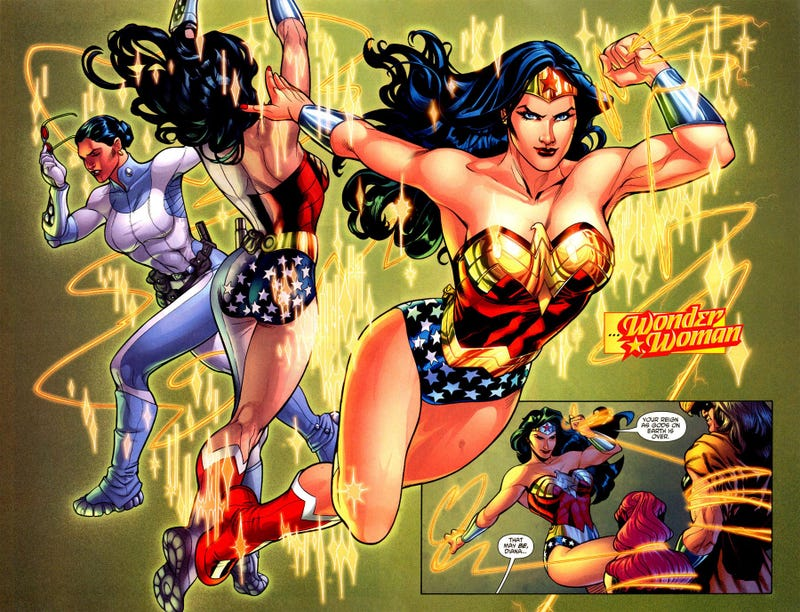 Illustration for article titled Wonder Woman Reading Suggestions...