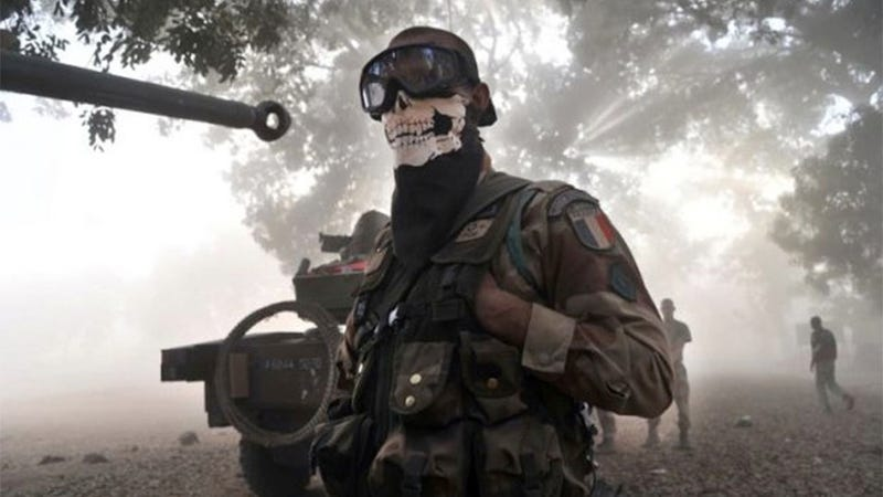 Illustration for article titled Why Soldiers Wear Call of Duty-style Masks