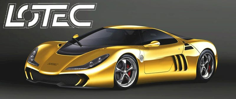 Lotec Sirius The Ugliest Super Car Ever
