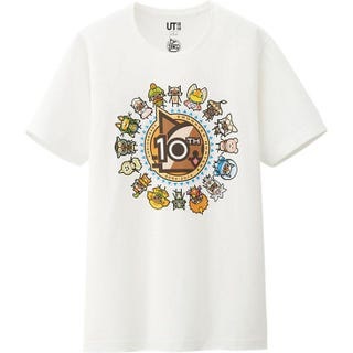 Illustration for article titled Uniqlo Celebrates 10 Years Of Monster Hunter