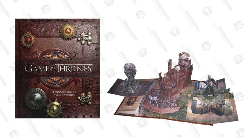 Game of Thrones: A Pop-Up Guide to Westeros Hardcover | $32 | Amazon