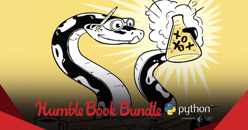 Illustration for article titled Humble Bundle's New Book Collection Helps You Start Coding With Python