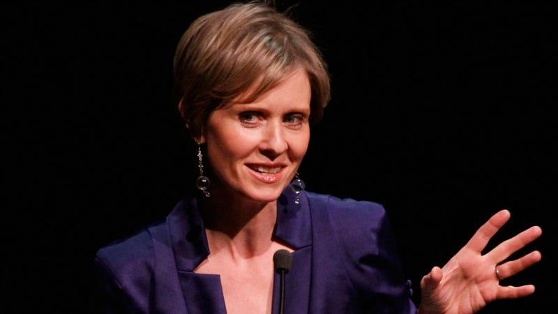 Illustration for article titled Cynthia Nixon Patiently Explains Why She's Not Pro-Christine Quinn