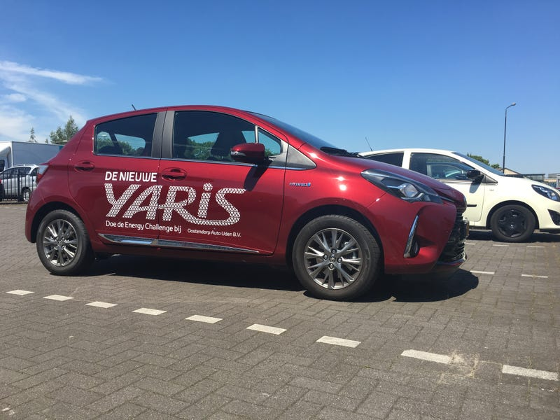 Illustration for article titled I just drove a Yaris Hybrid, AMA
