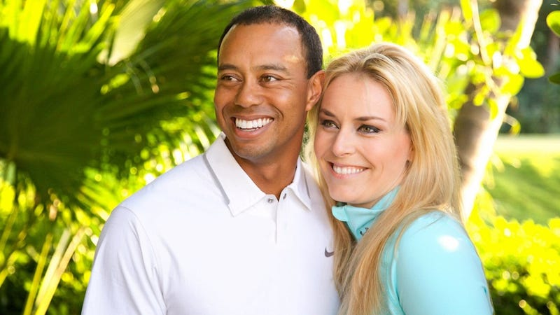 Illustration for article titled Tigers Woods And Lindsey Vonn Are Facebook Official