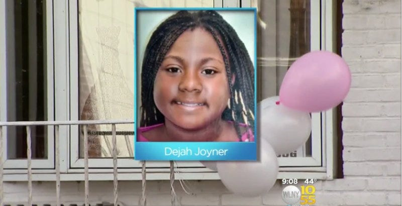 Illustration for article titled Dejah Joyner, 12, Killed In Her Living Room By Stray Bullet