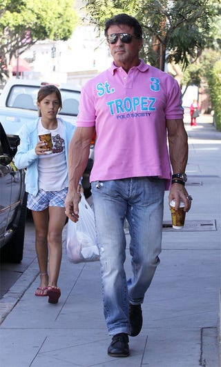 Illustration for article titled Sylvester Stallone's Daughter Cannot Believe That Shirt