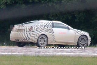2010 Cadillac Cts Coupe Strips Down Shows Some Skin