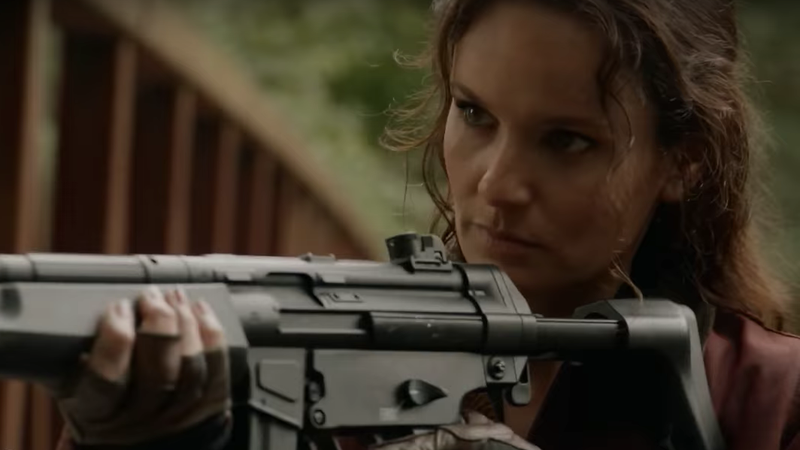 Sarah Wayne Callies on Colony