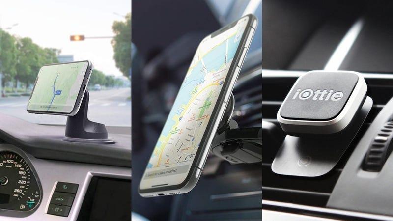 iOttie iTap 2 Magnetic Car Mount | $20 | AmazoniOttie iTap 2 Magnetic CD Slot Mount | $20 | AmazoniOttie iTap Magnetic Vent Mount | $12 | Amazon