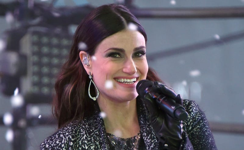 Illustration for article titled Idina Menzel to Haters of New Year's Eve Performance: Basically, IDGAF