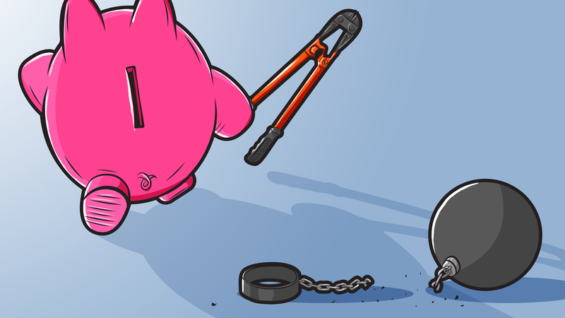 Illustration for article titled The First Things You Should Do After Paying Off a Big Debt