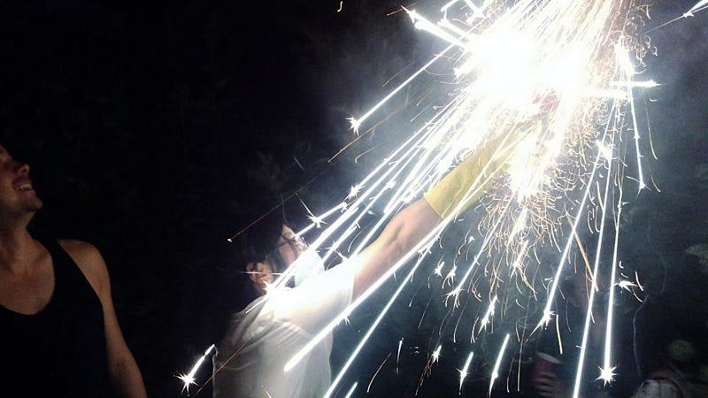 Illustration for article titled Shooting Challenge: Fireworks