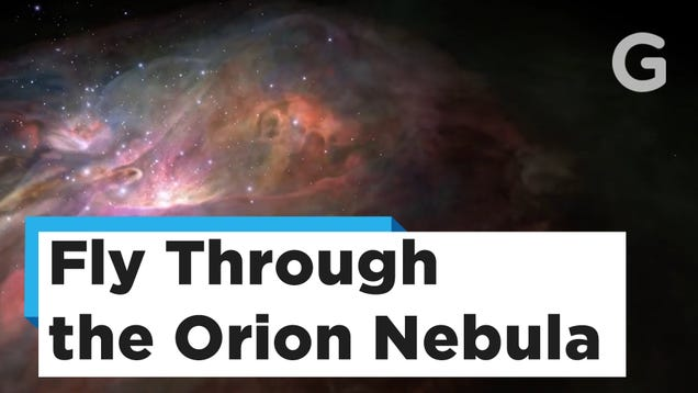 Take a Trip Through the Glorious Orion Nebula in This New 3D Visualization
