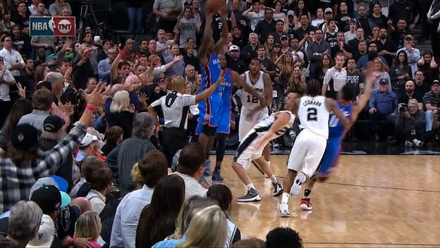 All Hell Broke Loose On That Final Play Of Thunder-Spurs