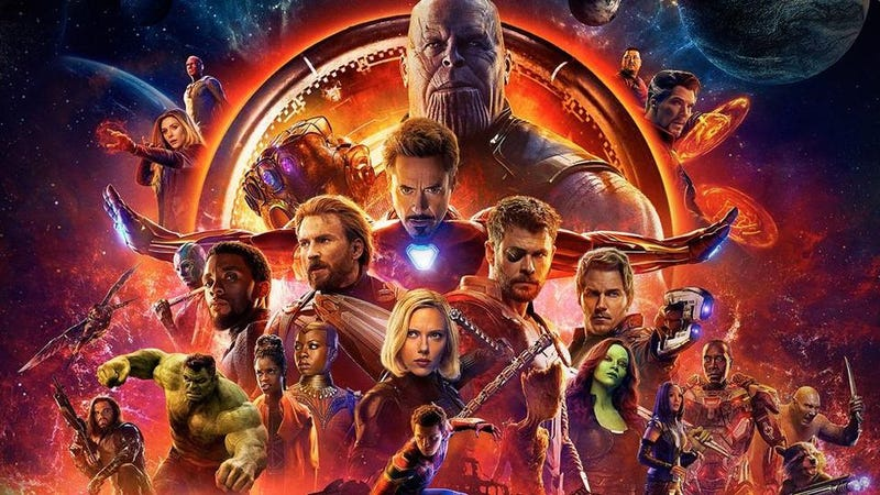 Illustration for article titled Avengers: Infinity War