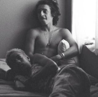 Willow Smith, 13, and Moises Arias, 20Instagram screenshot