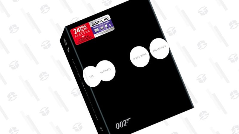 Ultimate James Bond Collection, The Blu-ray | $140 | Amazon