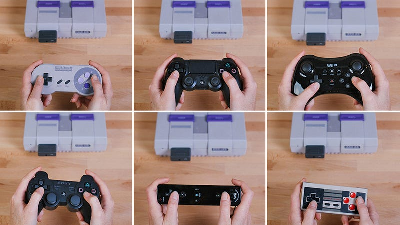 Illustration for article titled You Can Now Use Your Wireless Controllers With the Original Super Nintendo