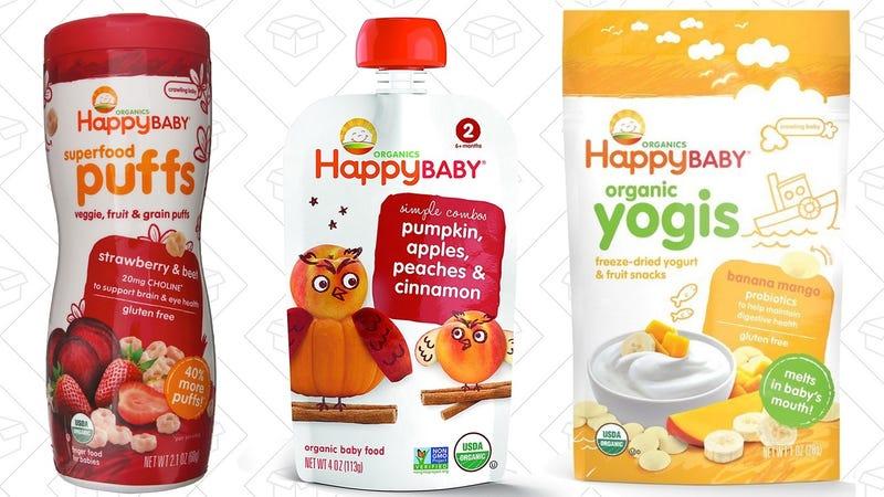 20% off Happy Baby Food