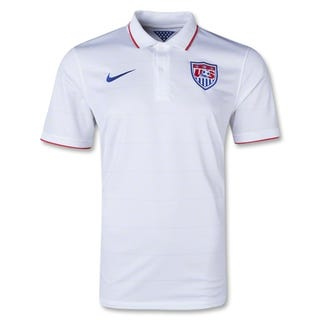 Illustration for article titled Here's The USMNT 2014 Home Jersey