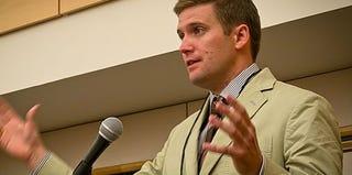 Richard B. Spencer, president of the National Policy Institute (Courtesy of the National Policy Institute)