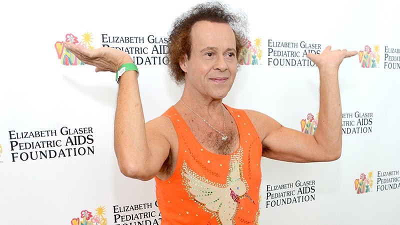 Richard Simmons Not Transitioning, Despite Reports
