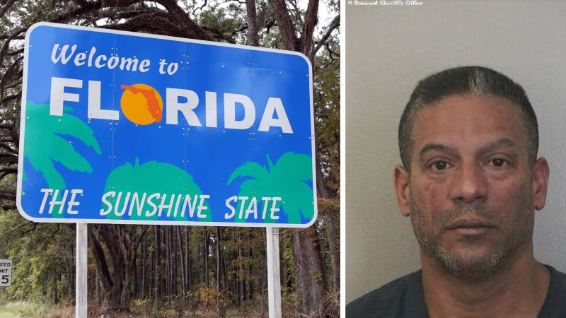 Illustration for article titled Florida Man Brought His Teenage Son Along To Torch His Ex's Car