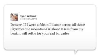 Illustration for article titled Ryan Adams: Singer, Songwriter, Skyrim Fan