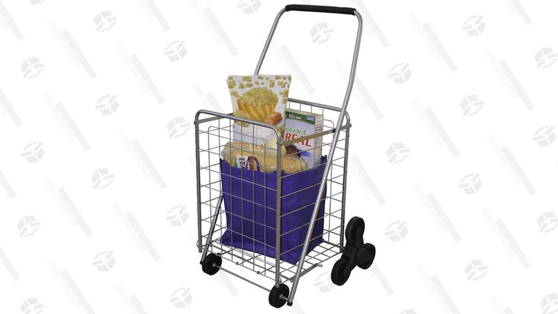 Helping Hand Deluxe Stair Climber Cart   $20   Amazon